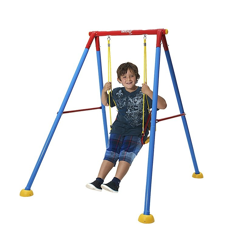 Columpio individual infantil ni o jugar patio jardin 1 en mercadolibre - Columpio infantil jardin ...