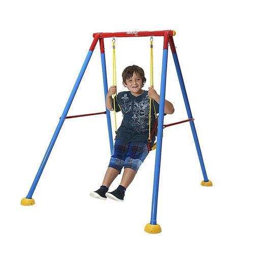 Columpio individual infantil ni o jugar patio jardin - Columpio infantil jardin ...