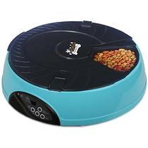 Alimentador Comedero Para Mascotas Croqueta Qpets Perro Gato