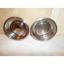 2 Platos Para Comederos Gatos Cat Bowl Diam 13 Cm Hondo 3cm