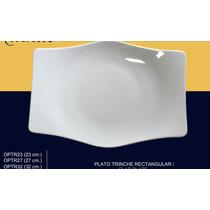 Plato Trinche 23 Cm Porcelana Mkm Mod. Xo Ccoenvios