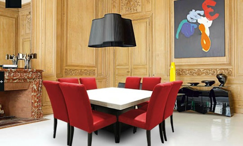 Comedor m rmol 8 sillas muebleco muebles mesa env o gratis for Comedores queretaro