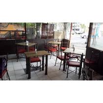 Remate De 10 Comedores De Hierro Forjado Para Restaurante