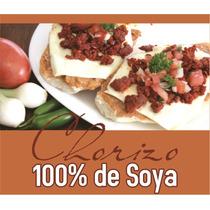 Chorizo 100% De Soya