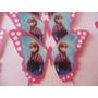 Paquete De 15 Mariposas De Oblea Comestible Imagen Frozen