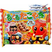 Kracie Popin Cookin Kurukuru Takoyaki Diy Kawaii Dulces