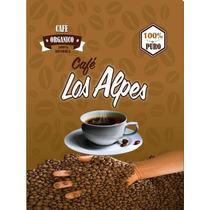 Cafe En Grano Tostado 100% Organico De Altura
