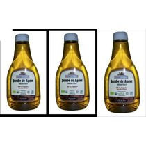 Paquete Miel / Jarabe De Agave Organica 100% Pura 680 Gramos