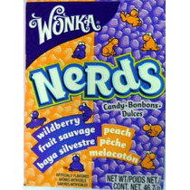 Wonka Nerds Wildberry & Peach