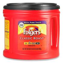 Contenedor De Café Folgers Tostado Clasico Para 240 Tazas