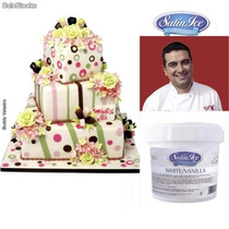 Fondant Profesional A Granel Satin Ice Cupcake Pastel