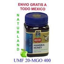 Miel Manuka (manuka Honey) Mgo 400= Umf +20 Directa De Nz