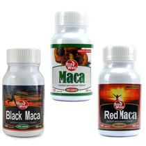 Maca Normal, Red Y Black Capsulas Certificada