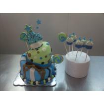 Pasteles De Fondant Y Cupcakes