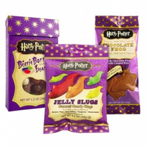 Paquete Dulces Harry Potter Bertie Botts, Jelly Slugs Y Rana