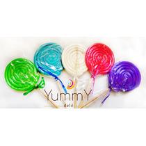 Paletas De Caramelo Macizo Colores Mesa De Dulces Candy Bar
