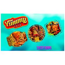 Paletas Caramelo Economicas Colores Fiestas Dulces Yummy $8