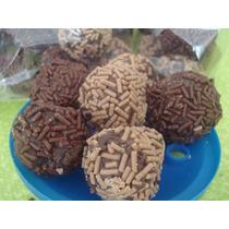 Trufas De Chocolate Envinadas $35.