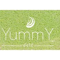 Grajea Confeti Perla Verde Dulces Xv Candy Bar Fiestas Yummy