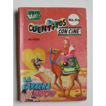 1967 La Carrera Del Amor Cuentitos Con Cine #50 Edar Comic