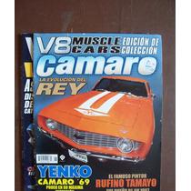 V8 Muscle Cars-lote 7 Revistas-ilus-color-español-hm4