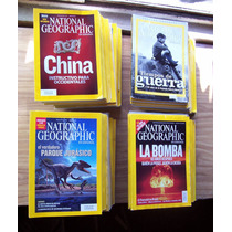 National Geographic-lote De 152 Revistas-reseñas-hm4
