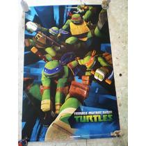 Poster 2 Las Tortugas Ninga
