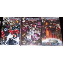 Idw Transformers Armada + Maximum Dinobots
