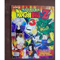 Album Stickers-dragon Ball Z-num.3 -goku-los Androides-133 E