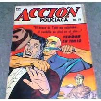 Comic Accion Policiaca No.19año 1953