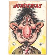 Tlax Comic Burrerias De Aniceto #1 De Editormex
