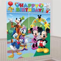 Poster Decoracion Fiesta Mimi Mickey Mouse