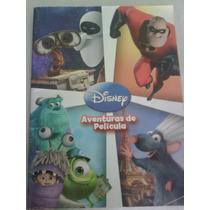 Libro Para Colorear:aventuras De Pelicula Disney Pixar