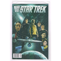Star Trek # 1 - Idw Comics - Editorial Bruguera