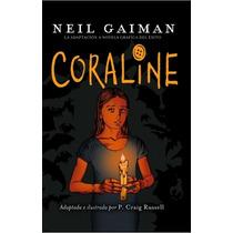 Coraline... Novela Gráfica Neil Gaiman / P Craig Rusell Hm4