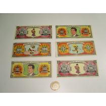 Billetes Banco De La Pandilla Memin Pinguin ( 6 ) 70