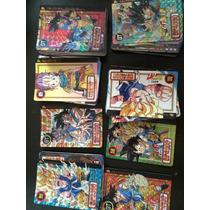 Tarjetas Collecionables De Dragon Ball Gt Marca Bandai