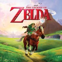 The Legend Of Zelda Calendario 2015 De Pared De Coleccion!