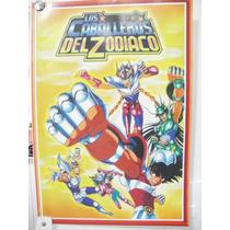 Lote 8 Posters Caballeros Del Zodiaco