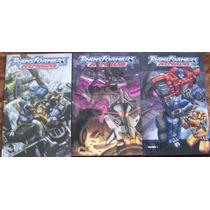 Idw - Transformers Armada Tpb (1 Al 3) Completo