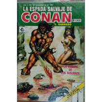 La Espada Salvaje De Conan # 90 Novedades Editores