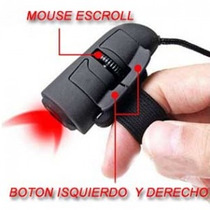 Mini Mouse Dedo Fingermouse Anillo Gamers Op4