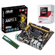 Kit De Actualización Athlon 5150 6.4ghz X4 Memoria 4gb Ddr3