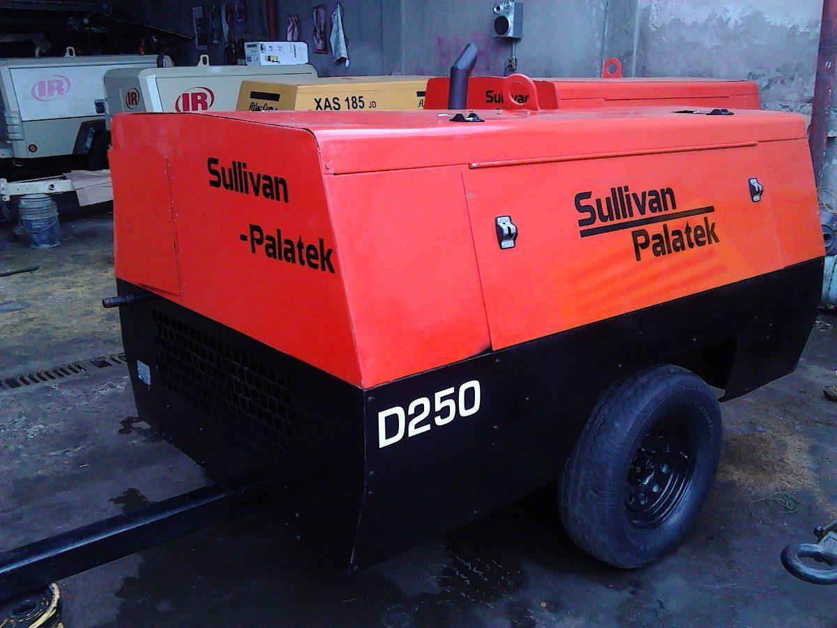 Compresor 250pcm Sullivan Palatek Motor Jhondeere