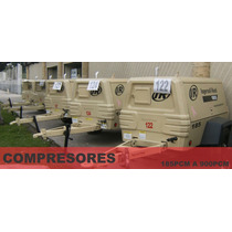 Compresor Ingersoll Rand P185 2007 Solo 1247 Hrs De Uso