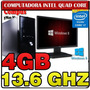 Pc Intel Quad Core I7 13.6gh 4gb Ram Led 18.5 Hdmi Vga 500gb