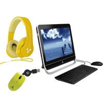 Computadora All In One Hp 20 + Diadema + Mini Mouse