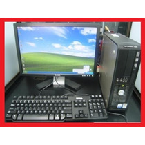 Dell Optiplex 760 4gb Ram 80disco Lcd 17 Tec Y Mouse