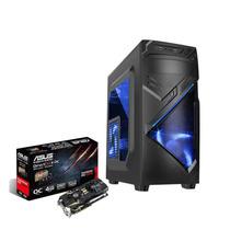 Computadora Cpu Core I7-5820k Gamer Dd 1tb 8gb + R9 290x 4gb