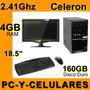 Computadora Celeron 2.41ghz 4gb Ram 160gb Disco Duro Nueva